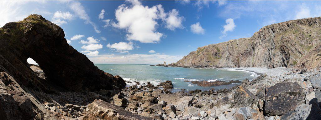 Panorama Küste Südengland