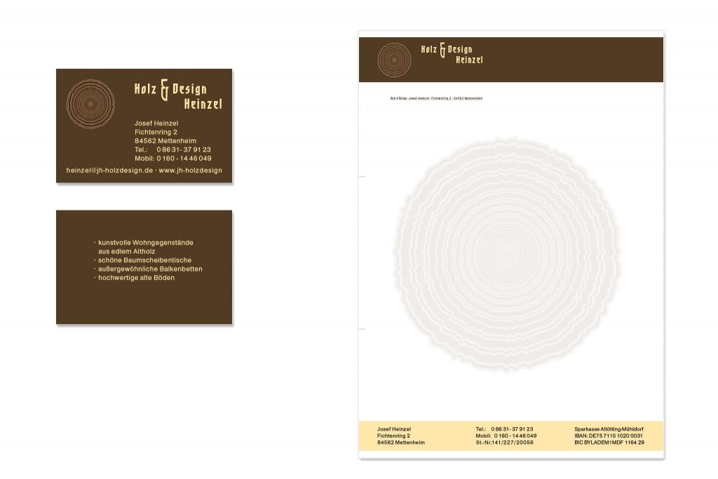 Grafik Vika und Briefbogen