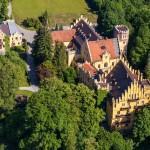 Luftaufnahme Schloss Brannenburg