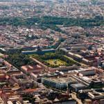 Luftaufnahmen Altstadt München, Residenz, Hofgarten, Odeonskirche, Oper,