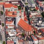 Luftaufnahmen München Frauenkirche, München, Bayern