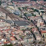 Luftaufnahmen München Hauptbahnhof, München, Bayern