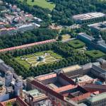 Luftaufnahmen Hofgarten, Residenz, München, Bayern