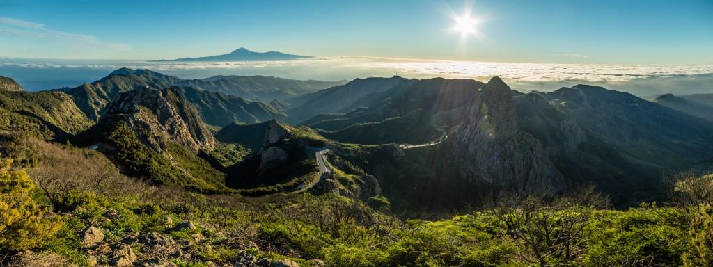 Gomera, Gebirge