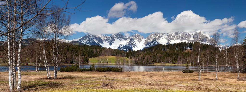 Kaisergebirge und Schwarzsee
