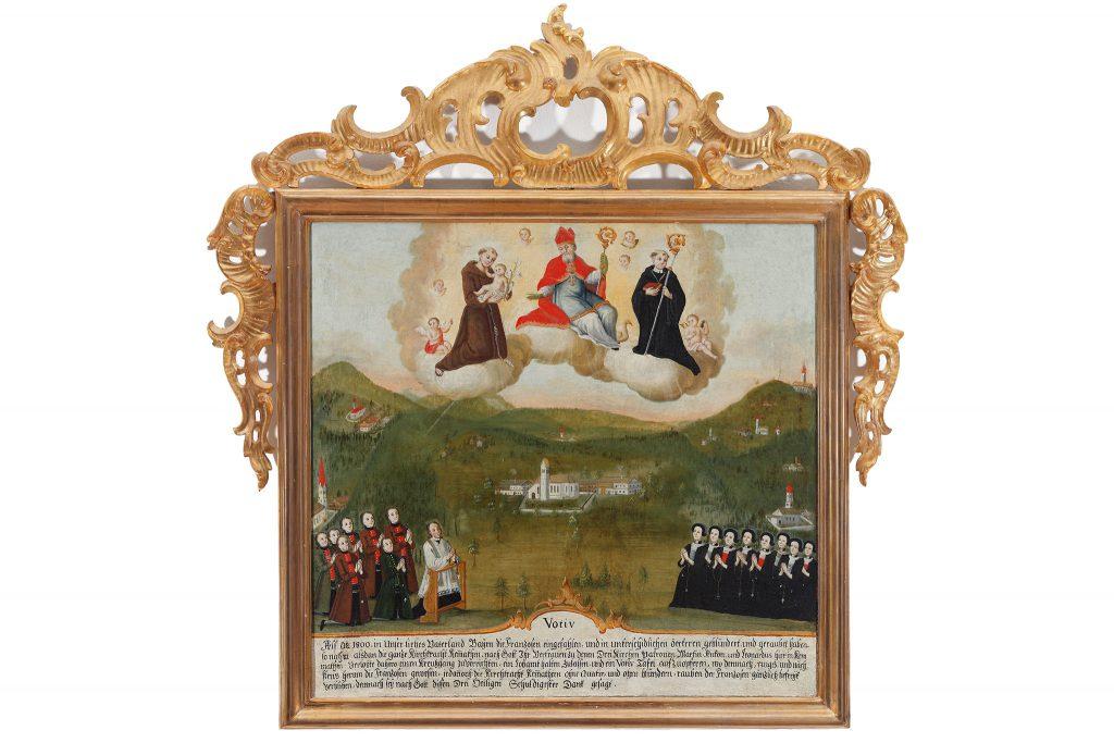 Reproduktionen-Fotoweitblick Votivbild vom Städtischen Museum Rosenheim