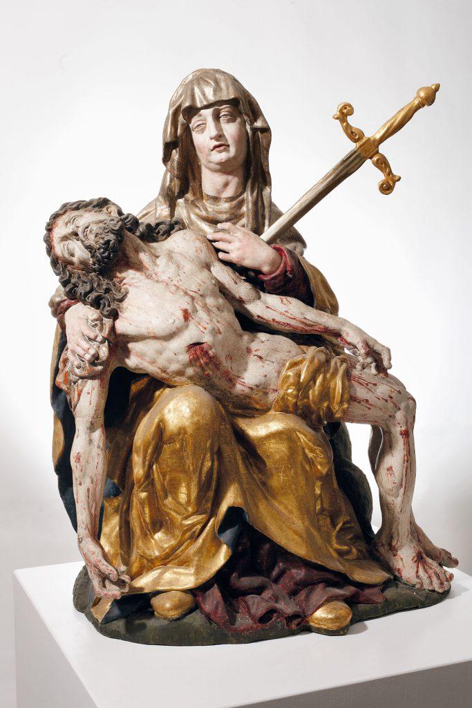 Reproduktionen-Fotoweitblick Mittelalterliche Skulptur vom Städtischen Museum Rosenheim