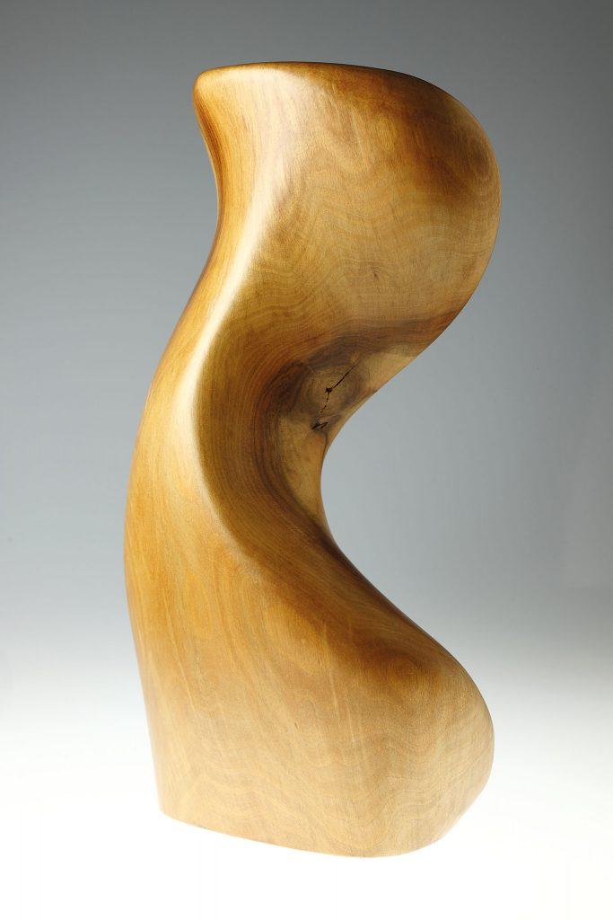 Reproduktionen-Fotoweitblick Holzskulptur