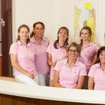 Firmenfoto, Gruppe, Team, Krankenschwestern, Azubis