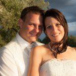 Hochzeitsfoto-03, Paar im Abendlicht