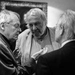 Knapp-Zorn-Hirmer-Prominentenfoto, small-talk in der Konzertpause
