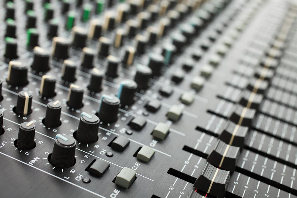 Mixer Tonstudio